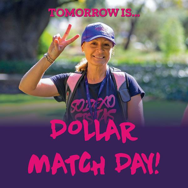 Social Tile Dollar Match Day