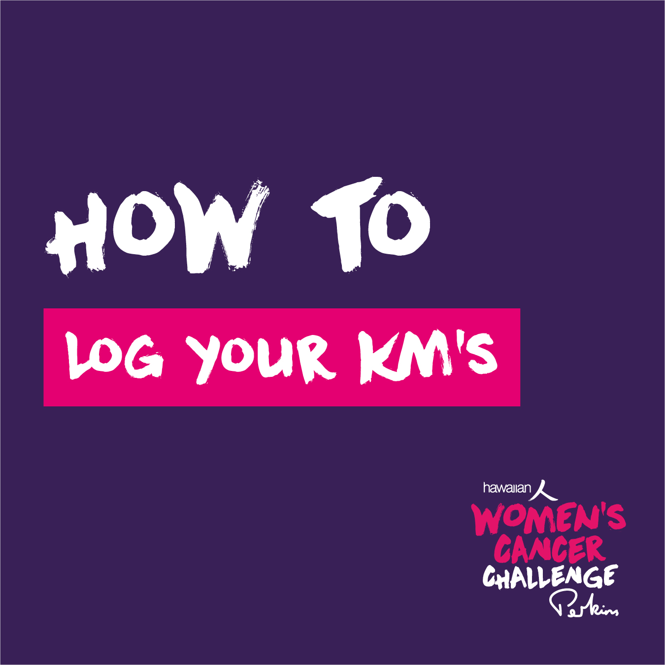 How to log Km's